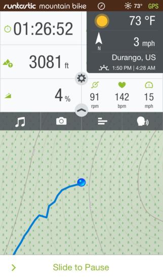Runtastic Mountain Bike PRO GPS Biking Computer (0zł z 4,99euro)