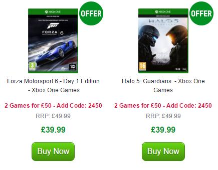 Forza Motorsport 6 i Halo 5: Guardians [Xbox One] w komplecie za 303zł @ Zavvi