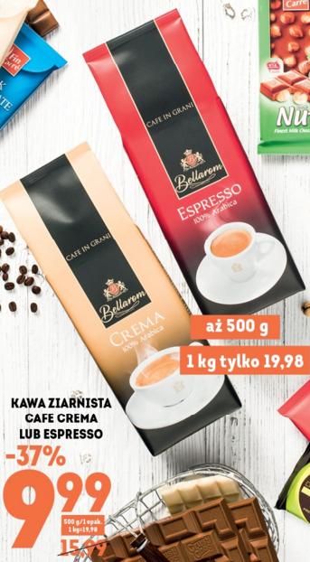 Kawa ziarnista 500g za 9,99zł zamiast 15,99zł (37% taniej) @ Lidl