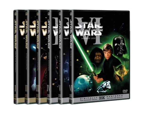 Saga Star Wars (DVD) jako dodatek do gazety @ Wyborcza