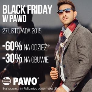 [Black Friday] -60% na odzież, -30% na obuwie @ Pawo