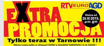 Jutro w Tarnowie super promocja tv samsung 40J5100 z 1499 na 950 zl !