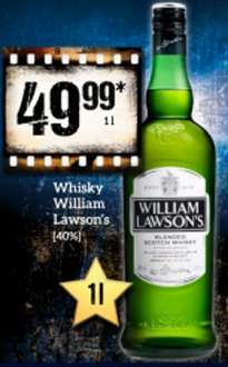 William Lawson's za 49,99 za 1 litr @żabka @fresh market