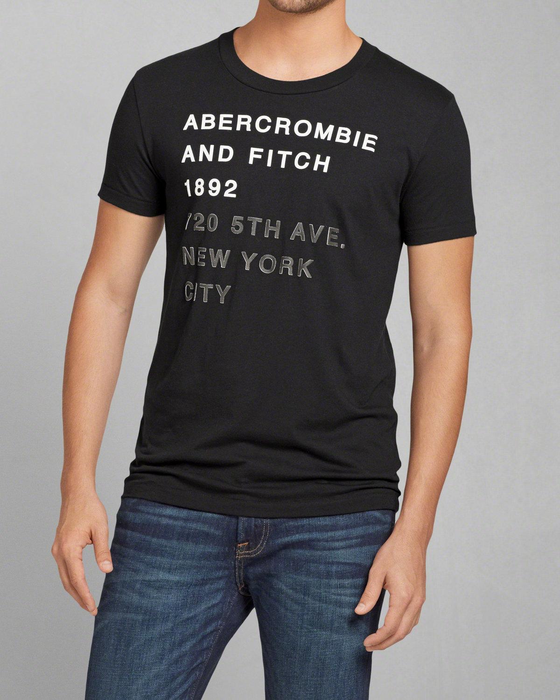 Koszulka Abercrombie za 10,40 euro i darmowa wysyłka do Polski.
