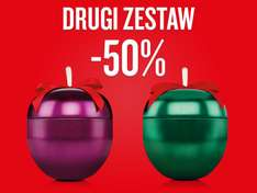 Drugi zestaw 50% taniej @ The Body Shop