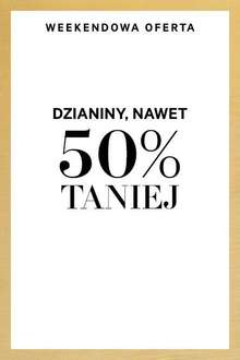 Weekendowa oferta - do 50% taniej @ H&M