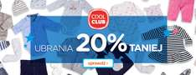 [Cyber Monday] 25% zniżki na nową kolekcję (+20zł rabatu tylko DZISIAJ) @ Smyk
