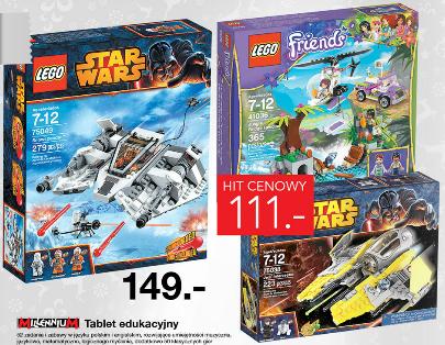 Lego Star Wars Snowspeeder za 149zł i Przechwytywacz Jedi za 111zł @ Lidl