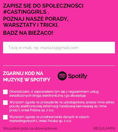 Kod na Spotify Premium 30 dni za wpis do newslettera (standardowo 19,99zł) @ l'oreal
