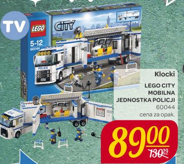 LEGO City Mobilna jednostka policji za 89zł (przecena z 130zł) @ Carrefour