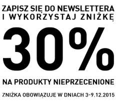 -30% w Reserved za kupon z newslettera