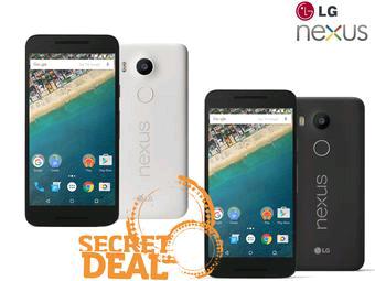 LG Nexus 5X 32GB (czarny lub biały) iBOOD Secret deal