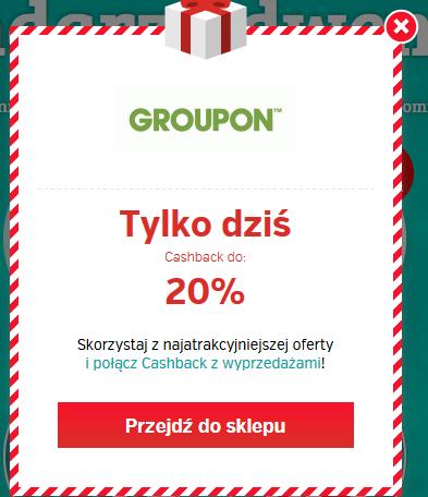 -20% Groupon ŁĄCZY SIĘ Z INNYMI PROMOCJAMI @planetplus
