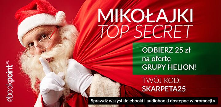 25 zł na Mikołajki @ ebookpoint.pl