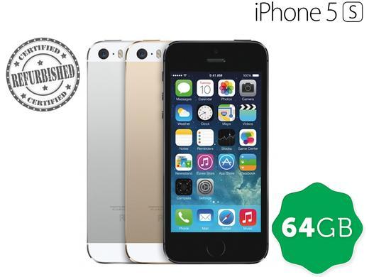 Apple iPhone 5s 64GB – recertyfikowany, 3 kolory: srebrny, złoty, space gray