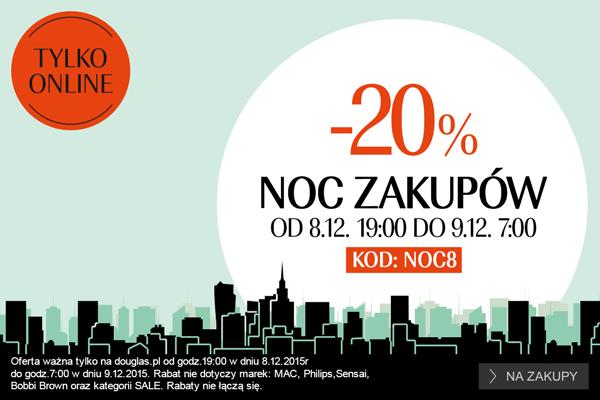 Douglas NOC ZAKUPÓW