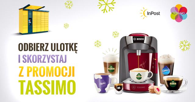 Świąteczny kupon rabatowy od Tassimo @ Paczkomaty inPost