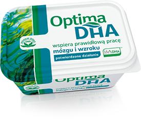 100% zwrotu za zakup margaryny Optima DHA