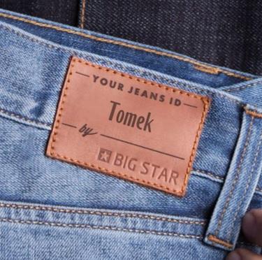 Spersonalizowane jeansy od 40zł @ Big Star