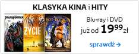Klasyka kina i hity na DVD i Blu-ray od 19,99 zł @ Empik.com