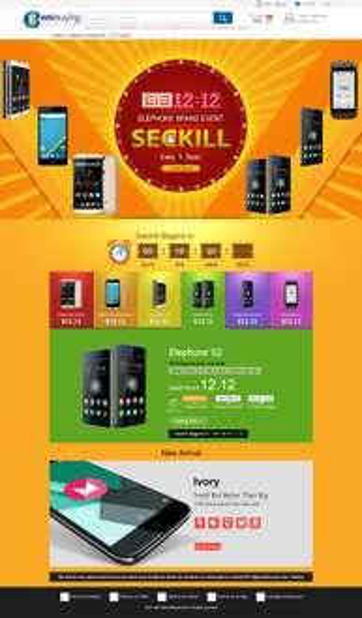 Promocja na telefony Elephone w Geekbuying