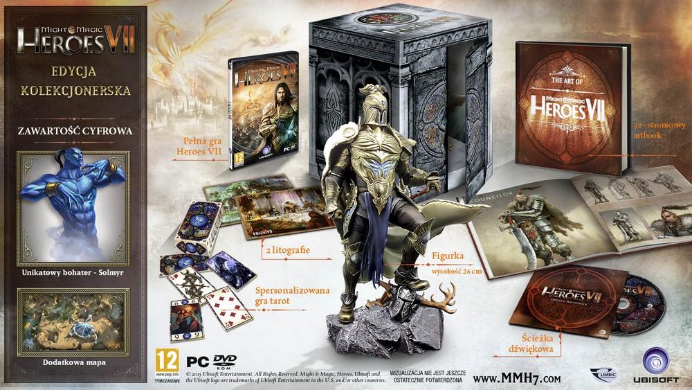 Edycja kolekcjonerska Heroes of Might and Magic VII od muve.pl