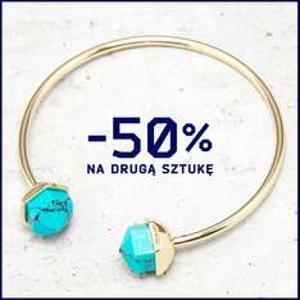 Druga sztuka biżuterii 50% taniej @ Cropp