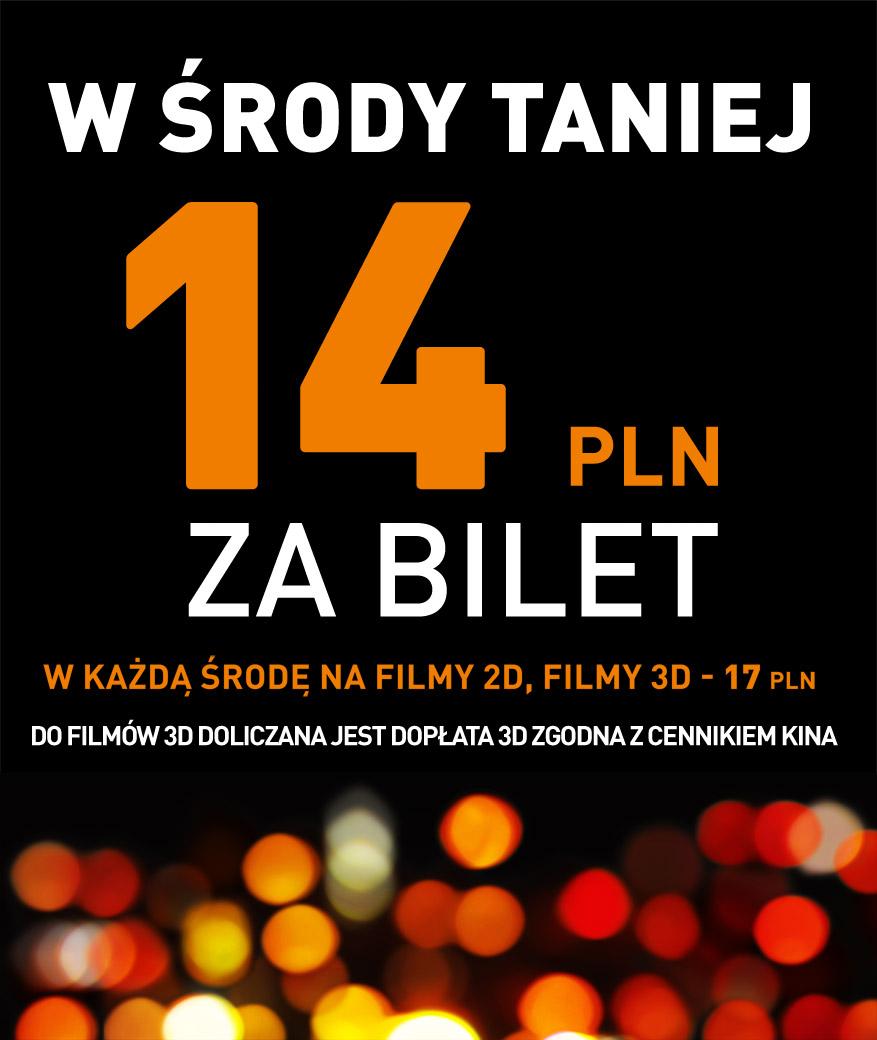 Środowe seanse za 14 zł @ Cinema City