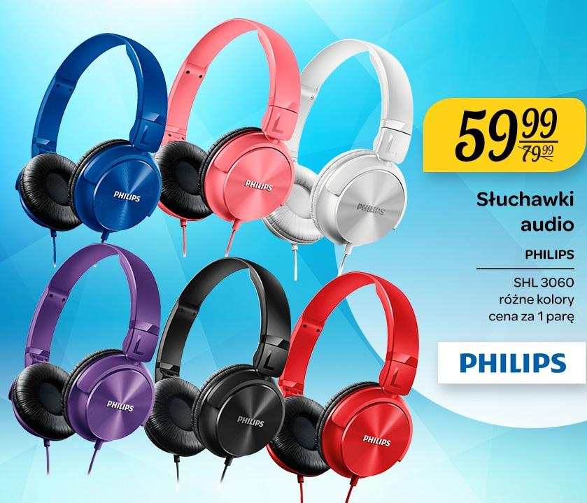 Słuchawki Philips SHL3060 za 59,99zł @ Carrefour