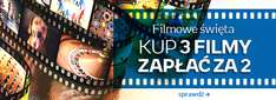 3 za 2 - filmy DVD i Blu-Ray @ Empik