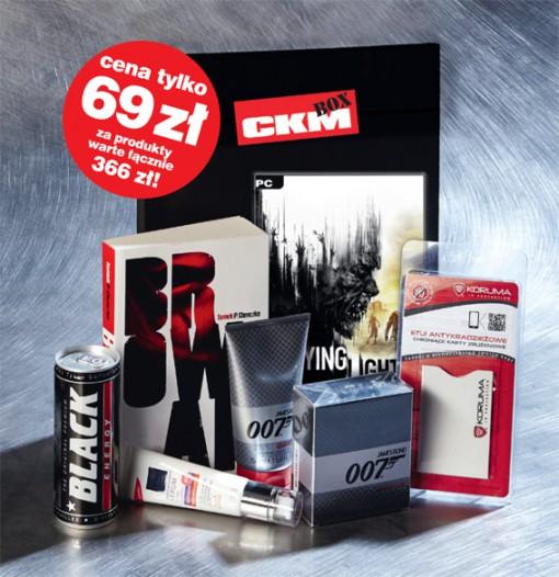 """CKM BOX (Dying Light[PC] + książka """"Browar"""" + woda toaletowa 007)"""
