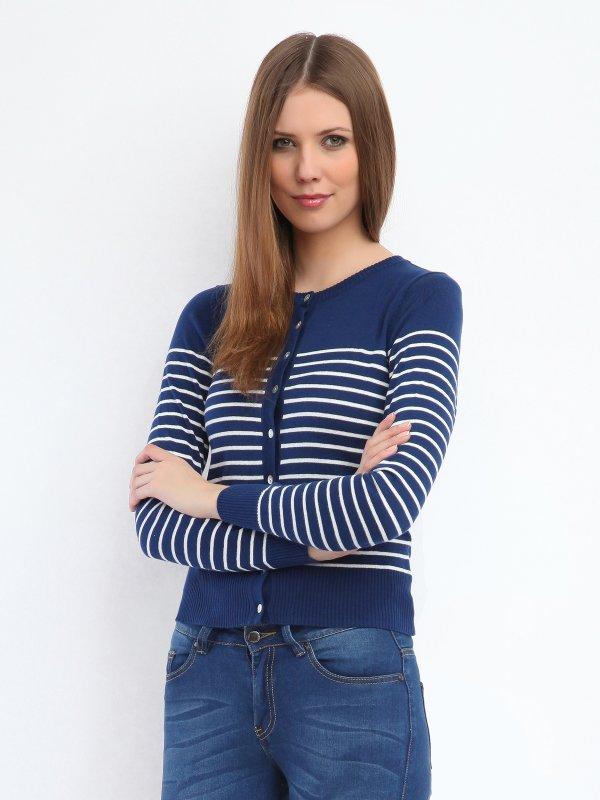 Damski sweter na guziki za 29,99zł @ Troll
