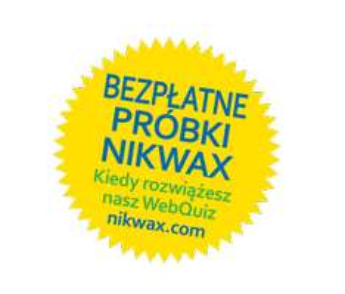 Bezpłatne próbki Nikwax Down Wash Direct za rozwiązanie quizu