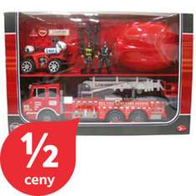 Zestaw zabawkowy Straż pożarna za 59zł (-50%) @ Tesco