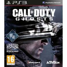 Call of Duty Ghosts ANG + FreeFall PlayStation 3