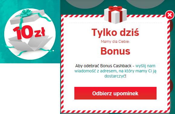 10 zł bonus cashback dla wszystkich ZA DARMO @PlanetPlus