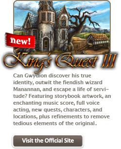 King's Quest I, II i III za darmo na PC/Mac