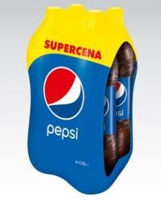 Pepsi 4 x 2l za 9,75 zł @ Kaufland
