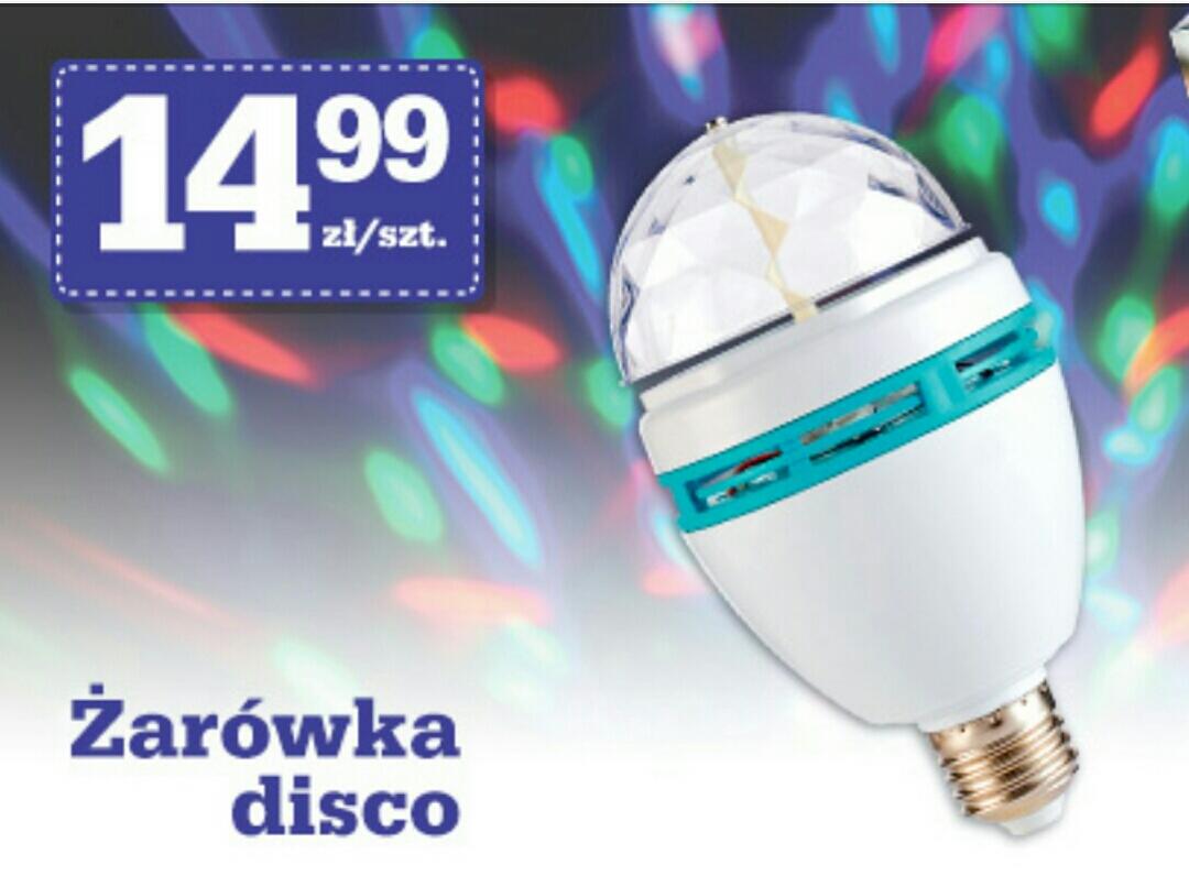 Żarówka disco za 14,99 zł @ Biedronka