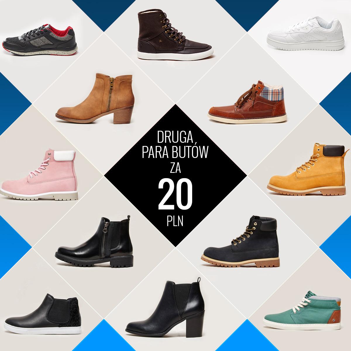 Druga para butów za 20zł @ House