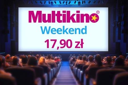 Bilety do MULTIKINA za 17,90zł na dowolny film 2D, ważne 7 dni w tygodniu! @GROUPON