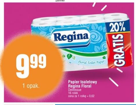 9,99zł za 16 rolek papieru toaletowego Regina @ E.Leclerc