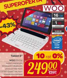 Tablet WOO P841W - Carrefour