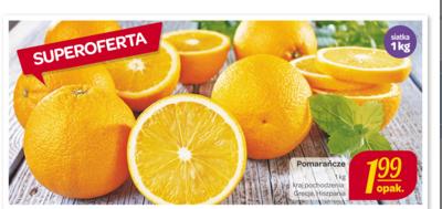 Pomarańcze w cenie 1,99zł za 1kg @ Carrefour