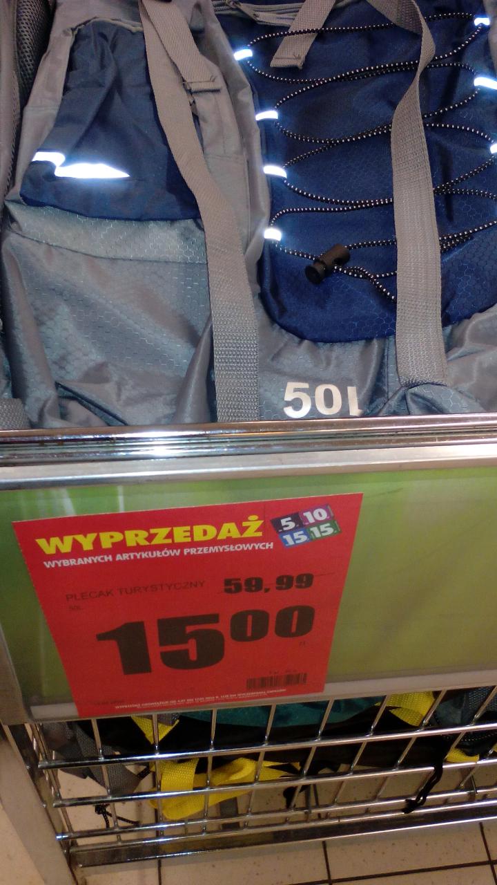 Plecak turystyczny 50l