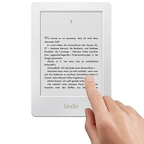 Amazon Kindle Touch bez reklam (biały lub czarny) za ok. 345 zł @ Amazon.de