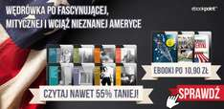 Ebooki o nieznanej Ameryce od 10,90 zł @ ebookpoint.pl