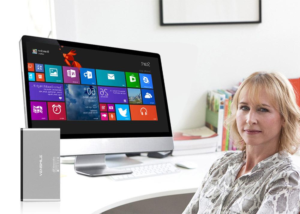 Stylowy mini PC Vensmile IPC002 Plus