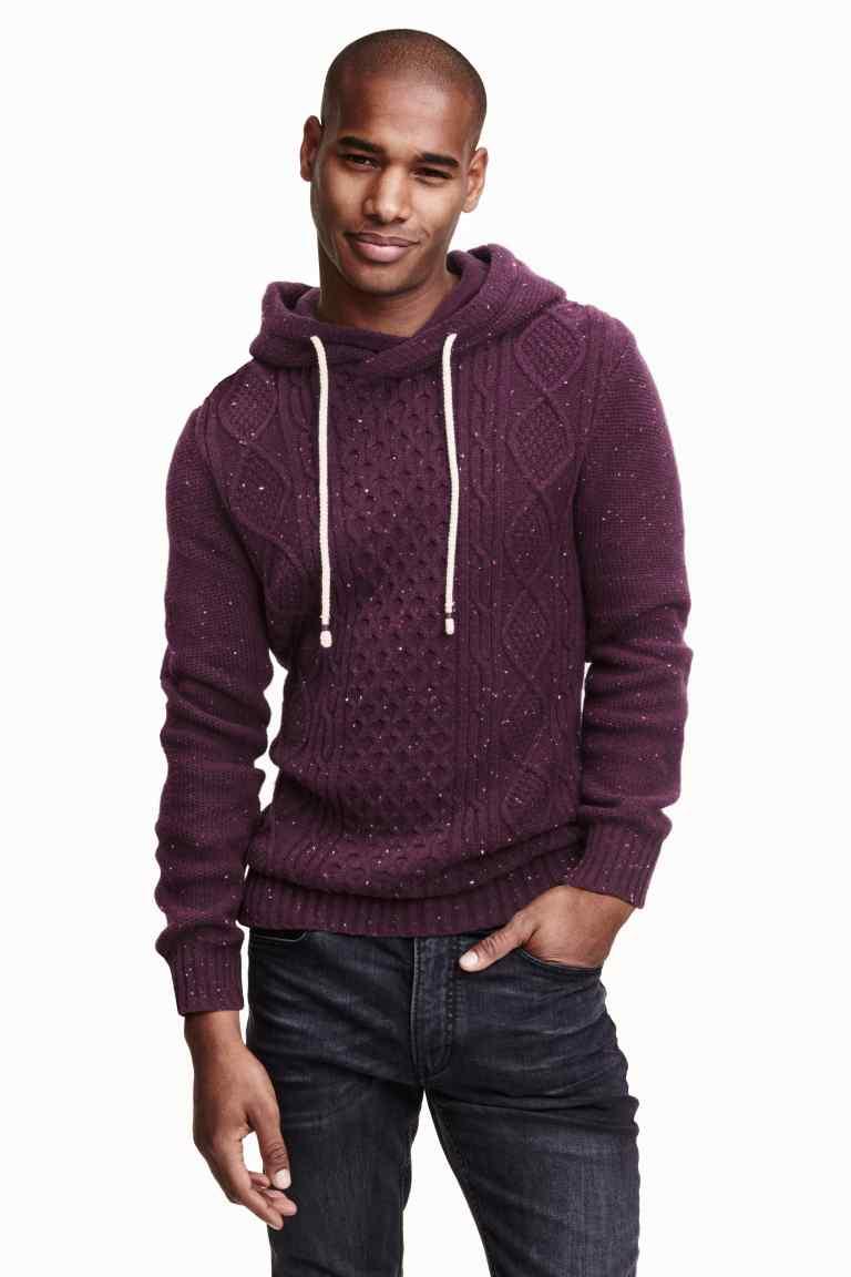 [PONOWNIE DOSTĘPNY] Męski sweter z kapturem za 29zł + darmowa dostawa @ H&M