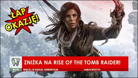 Rise of Tomb Raider [PC] + Tomb Raider (2013) za 144,99 zł!